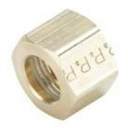 Parker Brass Compression 61C-4 1/4in Nut