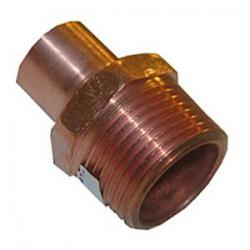 1in x 1-1/4in Copper x MIP Male Adapter  104R-MQ