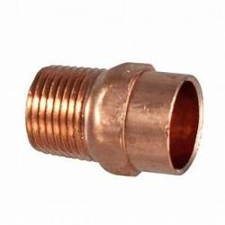 1-1/2in Copper x MIP Male Adapter  104-R
