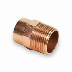 2-1/2in Copper x MIP Male Adapter  104-T