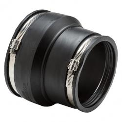Mission Rubber Couplings 6in x 4in Cast Iron/Plastic x Cast Iron/Plastic MR56 64 1406016