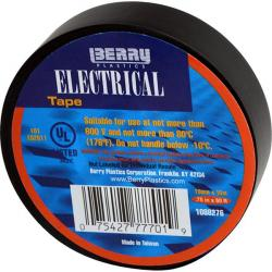 777-1 3/4in x 60 Yards Black Electrical Tape 573-1088276