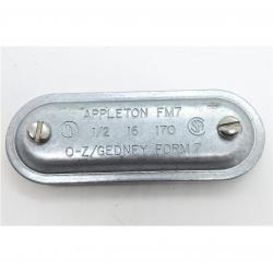 Appleton 170 1/2in FM7 Steel Cover