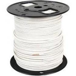 14 Machine Tool Wire Stranded White 500ft/Roll