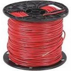 14 Machine Tool Wire Stranded Red 500ft/Roll