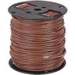 14 Machine Tool Wire Stranded Brown 500ft/Roll