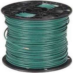 14 Machine Tool Wire Stranded Green 500ft/Roll