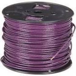 14 Machine Tool Wire Stranded Purple 500ft/Roll