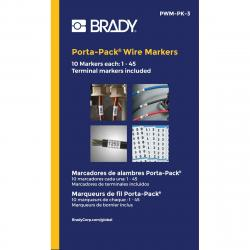 Brady PWM-PK-3 1-45 Port Pack