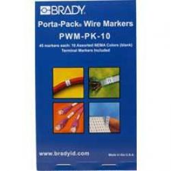 Brady PWM-PK-10 Assorted Colors
