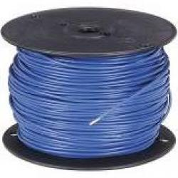 16 Machine Tool Wire Stranded Blue 500ft/Roll