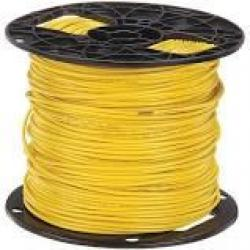 16 Machine Tool Wire Stranded Yellow 500ft/Roll