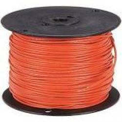 16 Machine Tool Wire Stranded Orange 500ft/Roll