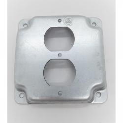 Appleton 8365N 4in Square Duplex Box Cover