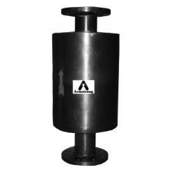 Armstrong Exhaust Head 6in 150RF Carbon Steel AEH Exhaust Head with 1-1/2in Drain D27090