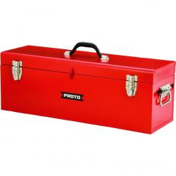 Proto J9969R General Purpose Tool Box with Tray  24in W x 9-1/2in H x 8-1/2in D