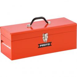 Proto J9975R General Purpose Tool Box with Tray  20in W x 9-1/2in H x 8-1/2in D