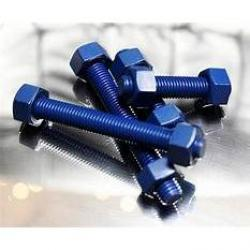 3/4in-10 x 4in SC-1 B7 Stud and Nuts with Teflon Fluoropolymer Standcote-1 Coating