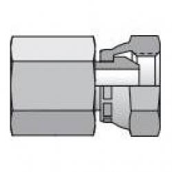 Parker 0207-12-12 3/4in FNPT x 3/4in FNPT/NPSM Pipe Swivel Adapter