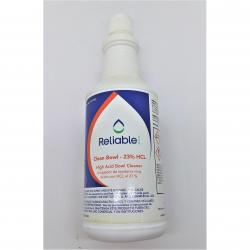 Reliable V01490 Bowl Cleaner HCL