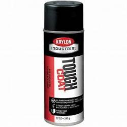 Krylon S01770 Tough Coat Safety Black Enamel 12oz A01770007