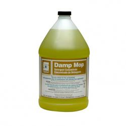 Damp Mop No Rinse Concentrated Floor Cleaner - 1 Gallon per Bottle 4 Bottles/Case