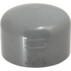 Spears 4in CPVC  80 Socket Weld Cap 847-040C