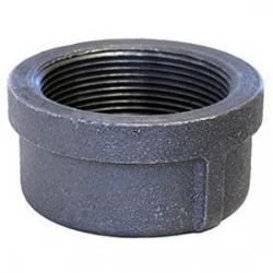 1/8in Black 150lb Threaded Pipe Cap Steel NG