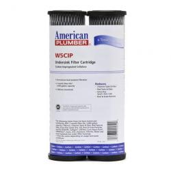 155002-52 W5CIP 5 Micron Filter 2/Pack Activated Carbon Impregnated Cellulose 10in Taste and Odor