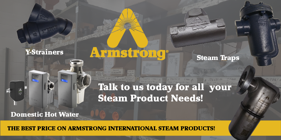 Armstrong International Steam Products, available at A. Louis Supply